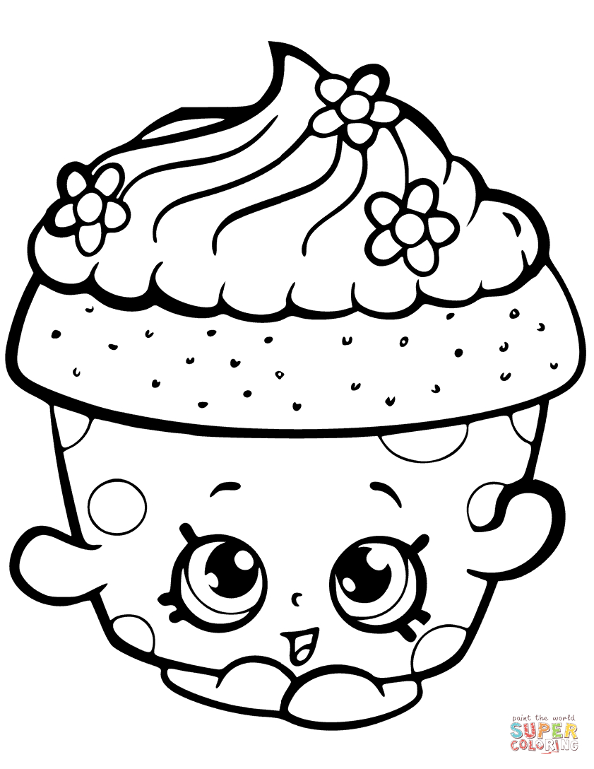 Taco Coloring Page Shopkins Coloring Pages Free Coloring Pages
