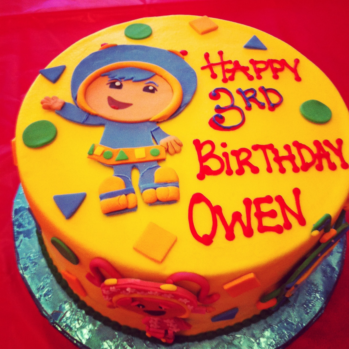 Team Umizoomi Birthday Cake 7 Team Umizoomi Birthday Cakes Boys Photo Team Umizoomi Birthday
