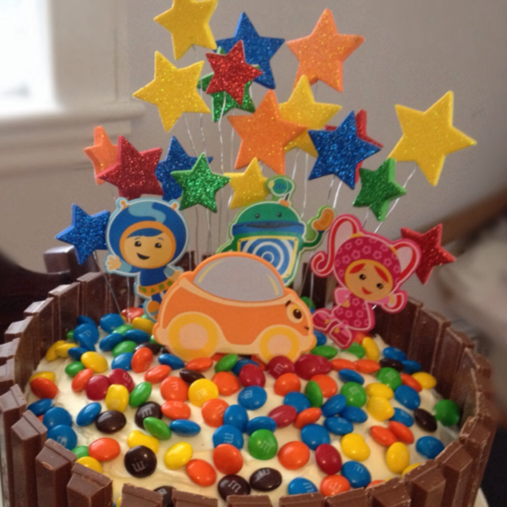 1024 In 23 Marvelous Image Of Team Umizoomi Birthday Cake