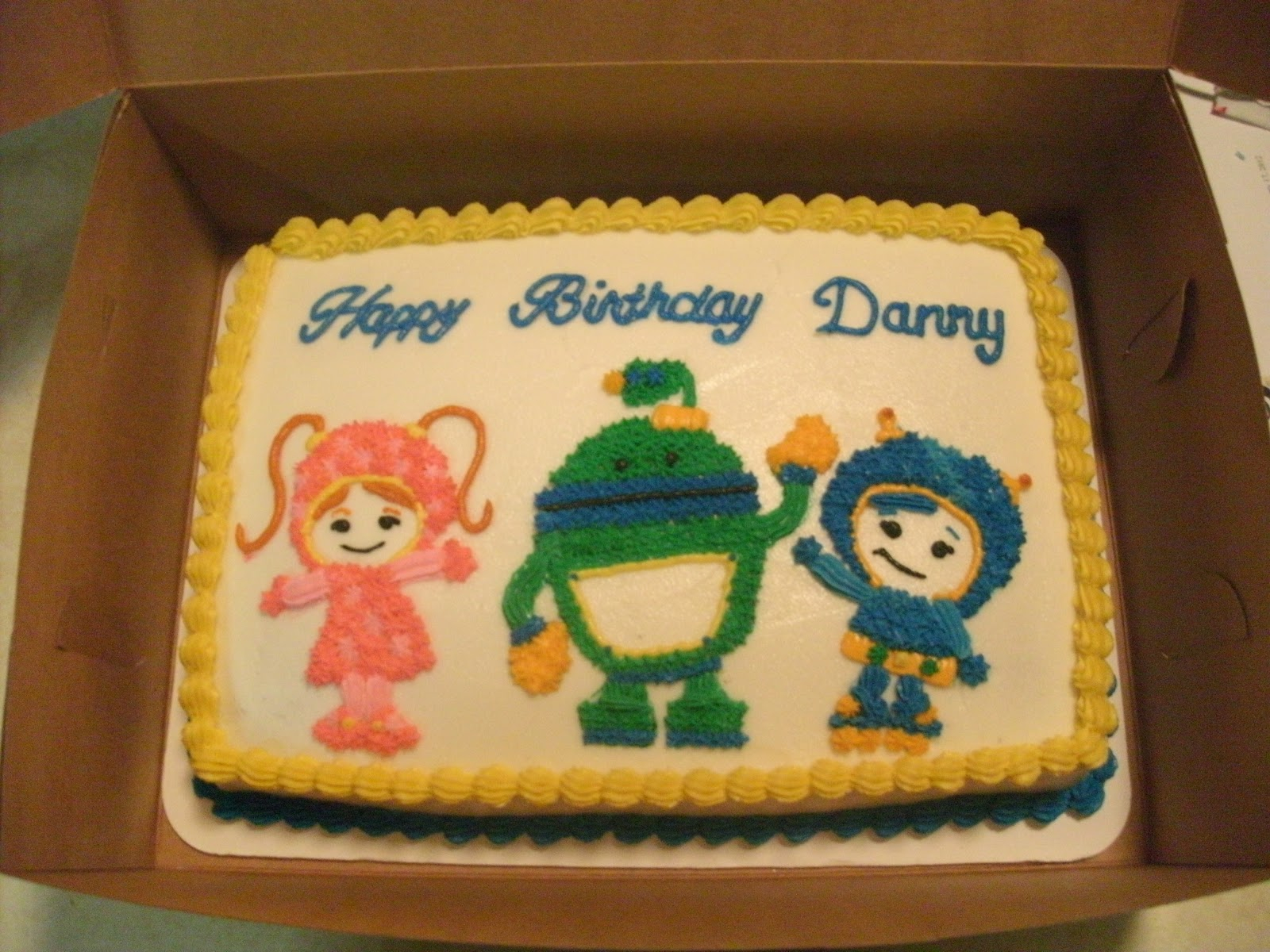 Team Umizoomi Birthday Cake Cakes The Sugar Cains Team Umizoomi Birthday Cake