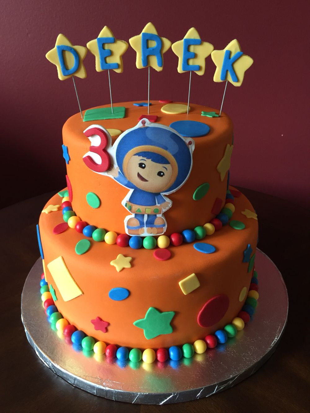 23+ Best Picture of Team Umizoomi Birthday Cake