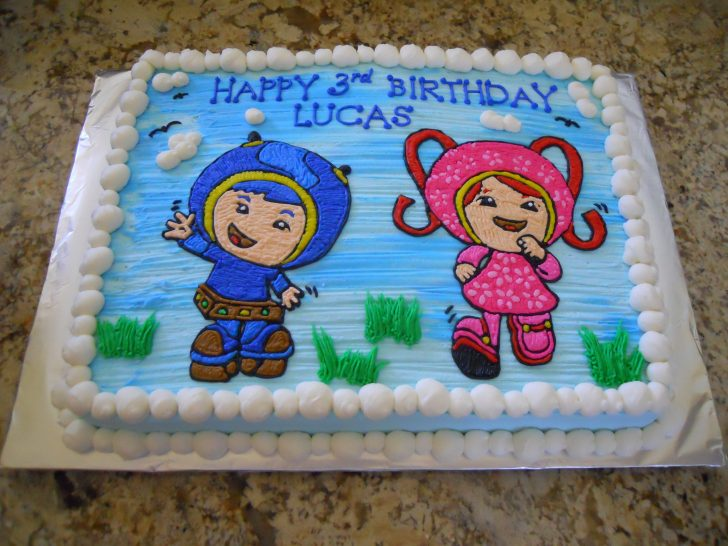 Team Umizoomi Birthday Cake Team Umizoomi Birthday Cake Cake Ideas Pinterest Birthday