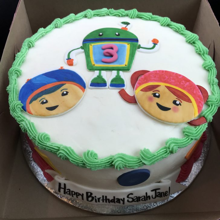 Team Umizoomi Birthday Cake Team Umizoomi Birthday Cake Kimberly B Flickr