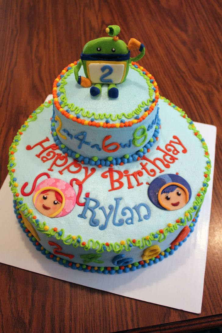 Team Umizoomi Birthday Cake Team Umizoomi Birthday Cake Look At The Name On The Cake Its A