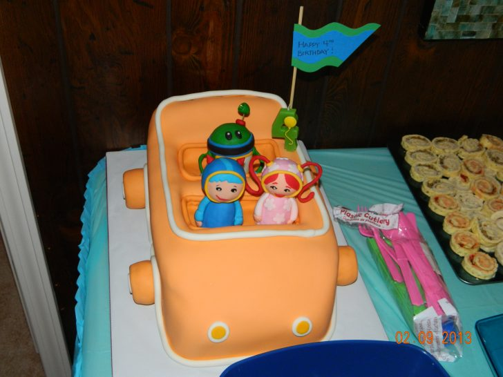 Team Umizoomi Birthday Cake Team Umizoomi Birthday Party Beauty The Boys