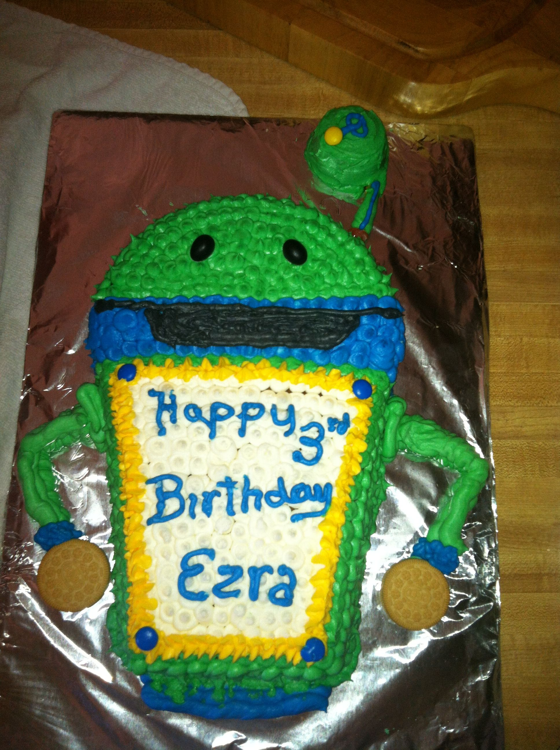 Team Umizoomi Birthday Cake Bot Ideas Pinterest