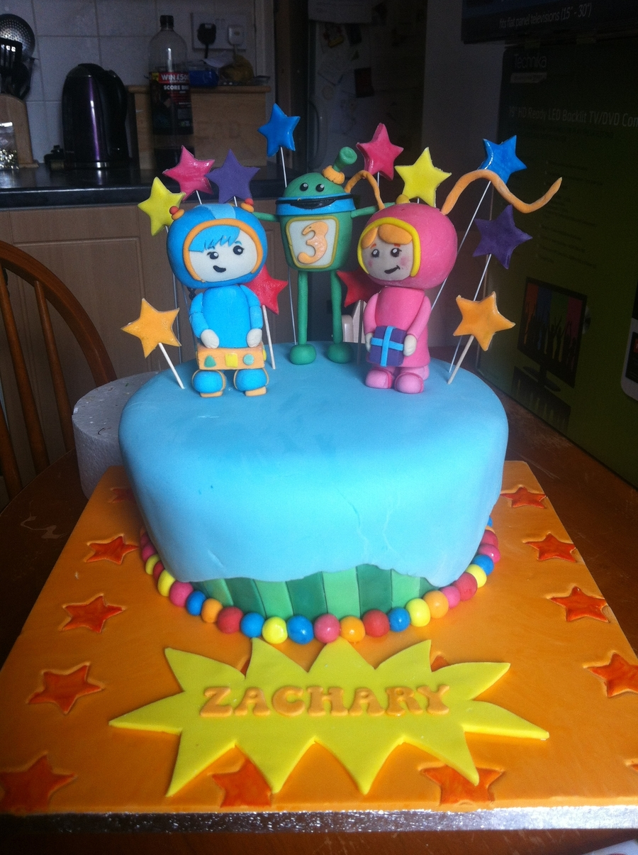 1205 In 23 Marvelous Image Of Team Umizoomi Birthday Cake