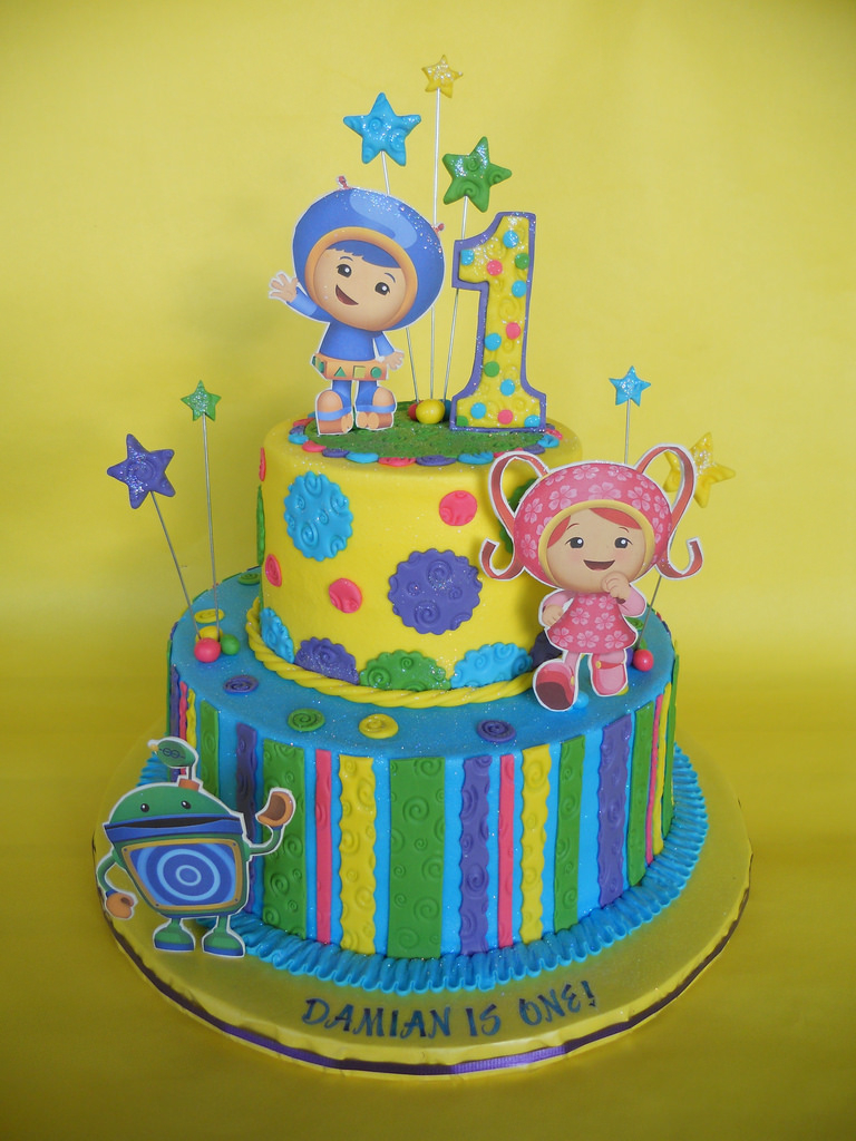 Team Umizoomi Birthday Cake Umizoomi Birthday Cake Amy Stella Flickr