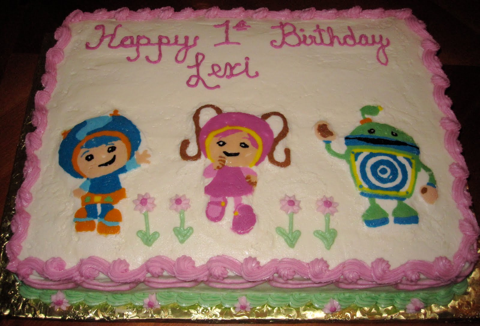 Team Umizoomi Birthday Cake Welcome Team Umizoomi 1st Birthday Cake
