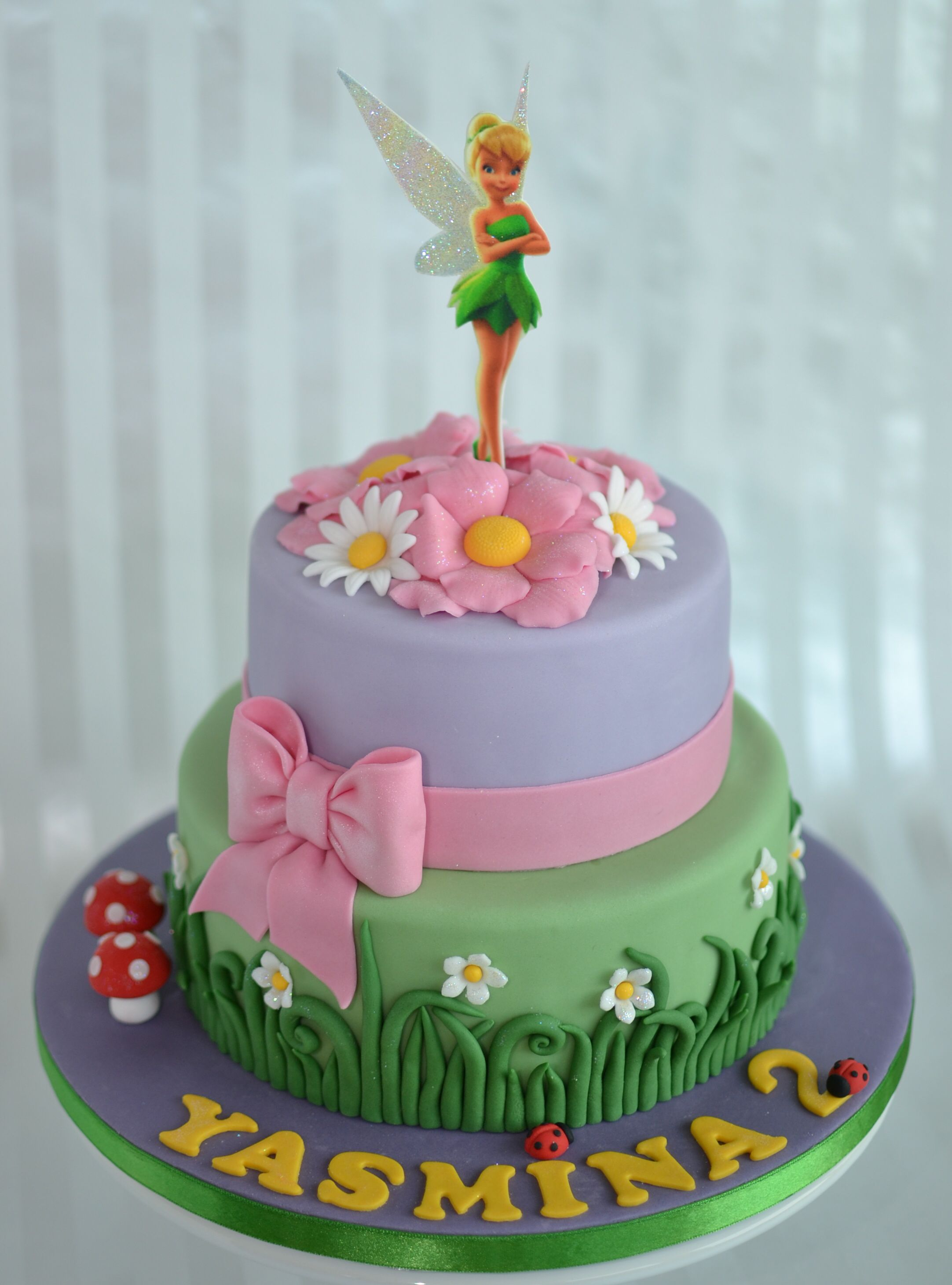 2921 In 23 Wonderful Picture Of Tinkerbell Birthday Cake