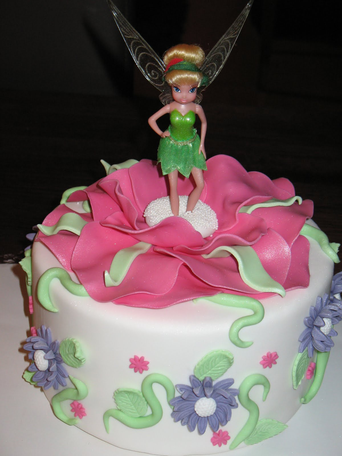 1200 X 1600 In 23 Wonderful Picture Of Tinkerbell Birthday Cake