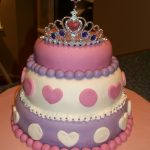 Toddler Girl Birthday Cakes 4 Ever Family Cakes Pink And Purple Toddler Princess