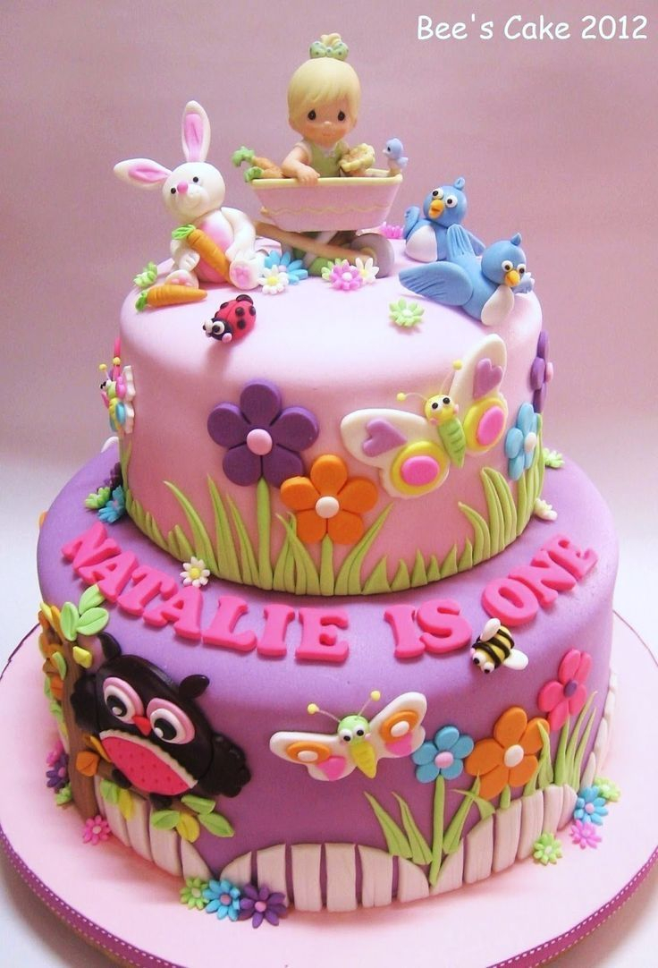 32+ Inspiration Image of Toddler Girl Birthday Cakes