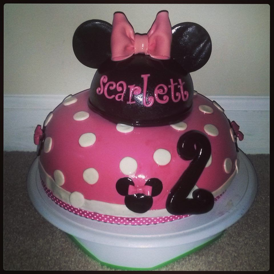 Toddler Girl Birthday Cakes Toddler Girl Pink Minnie Mouse Birthday Cake Cakes Cupcakes