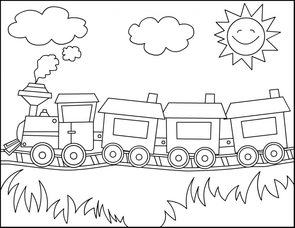 Train Coloring Page Coloring Page Thomas Train Coloring Pages Free Printable For Kids