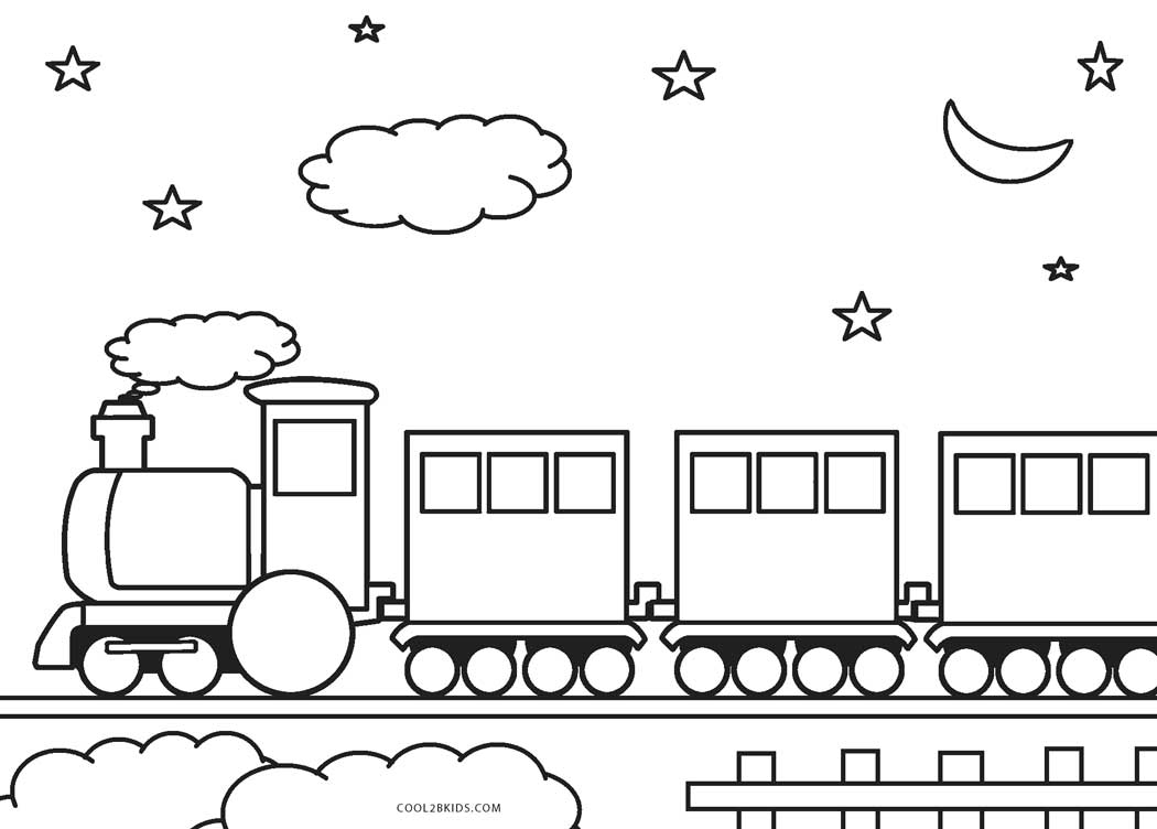 25+ Inspiration Picture of Train Coloring Page