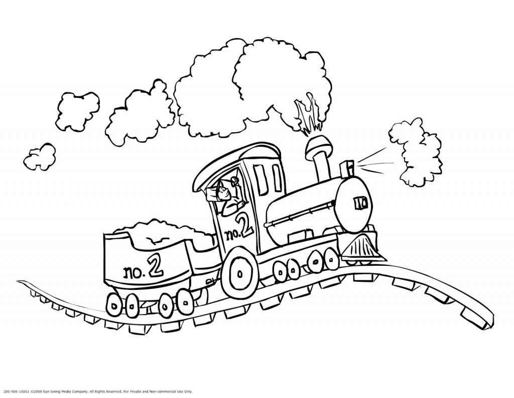 Train Coloring Page Train Coloring Pages Freight Page Free Printable To Print Thomas The