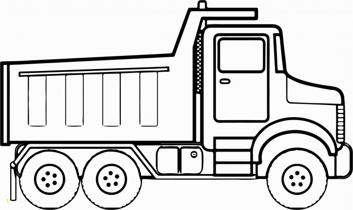 Truck Coloring Pages Coloring Page Truck Coloring Book