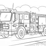 Truck Coloring Pages Fire Truck Coloring Page Free Printable Coloring Pages