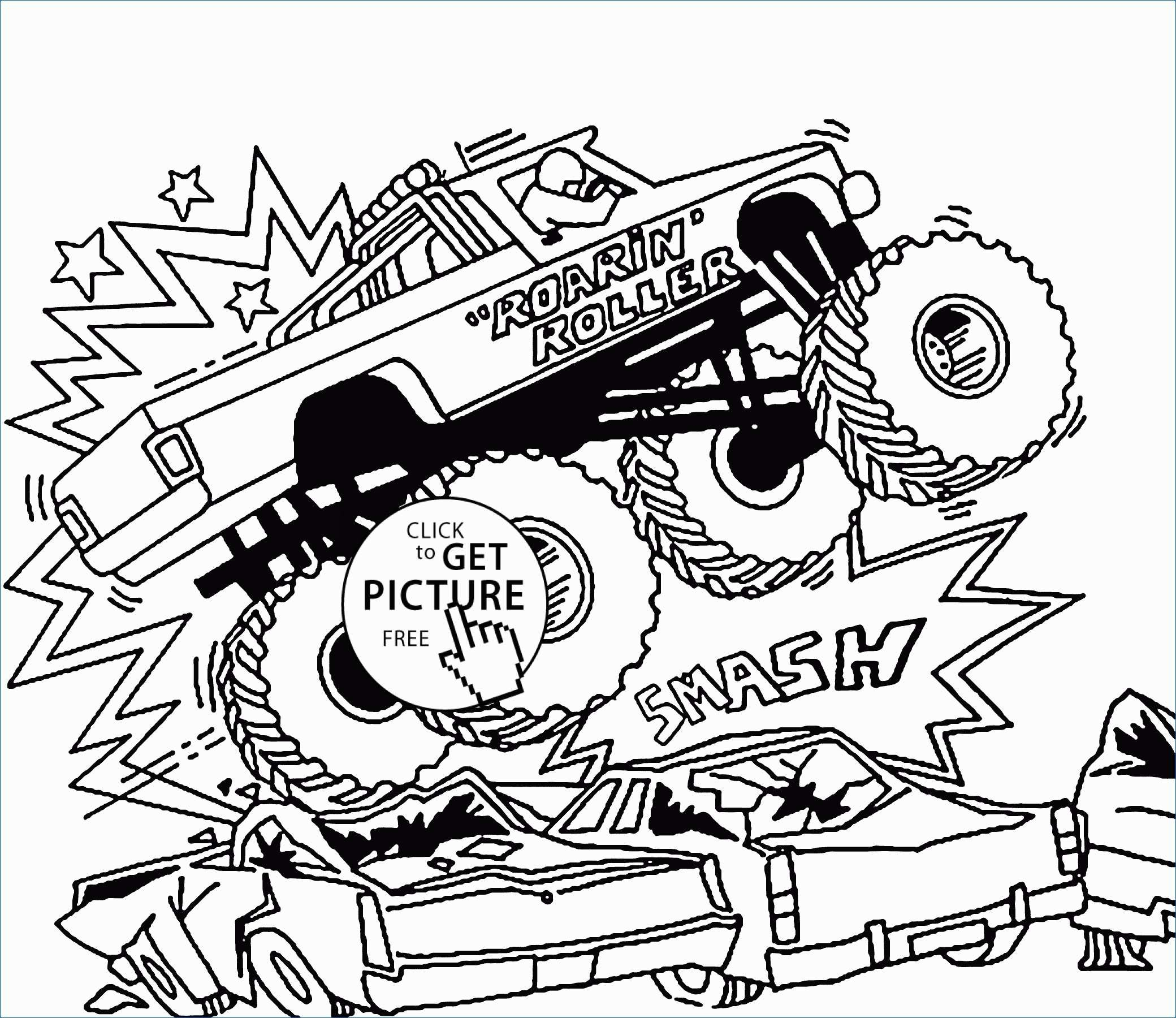 Truck Coloring Pages Free Monster Truck Coloring Pages To Print New Free Monster Truck
