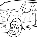 Truck Coloring Pages Pick Up Truck Coloring Pages 33 With Pick Up Truck Coloring Pages