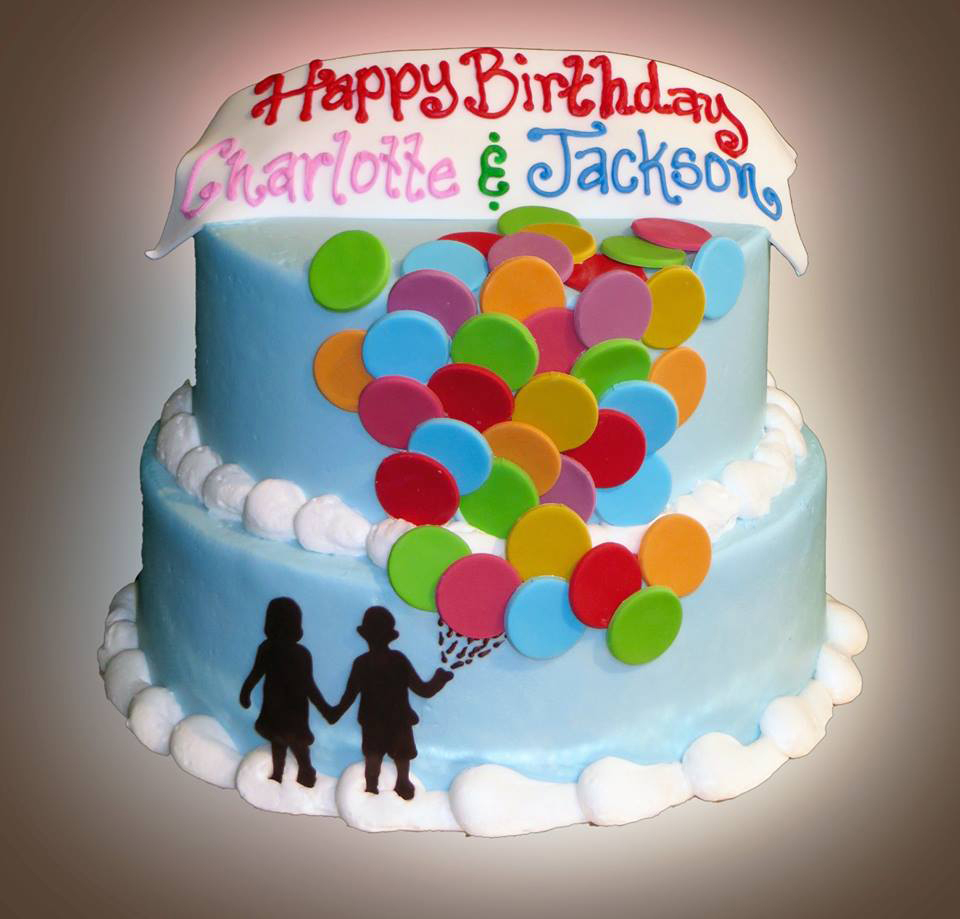 Twin Birthday Cakes Birthday Cake For Twins Sweet Somethings Desserts