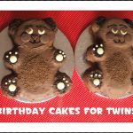 Twin Birthday Cakes Birthday Cakes For Twins Here Come The Girls