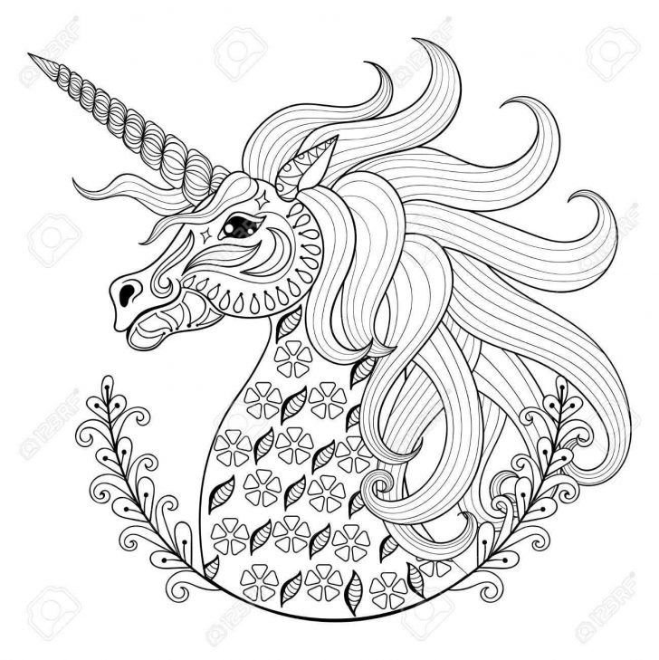 Unicorn Coloring Pages For Adults Coloring Page Unicorn Coloring Pages For Adults