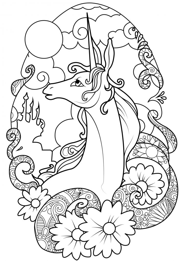 Unicorn Coloring Pages For Adults Unicorn Coloring Pages Beautiful Free Printable Coloring Pages For