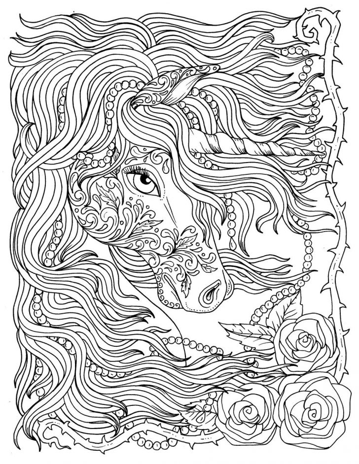 Unicorn Coloring Pages For Adults Unicorn Coloring Pages Free Best Of For Adults Plasticulture