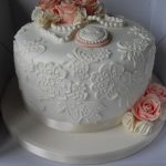 Vintage Birthday Cakes 9 Vintage Lace Birthday Cakes Photo Elegant Lace Birthday Cake