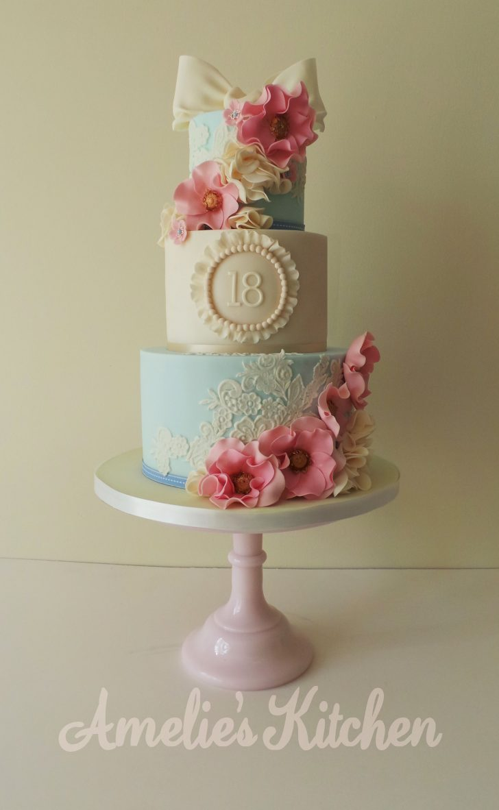 Vintage Birthday Cakes I Would Absolutely Love A Cake Like This For One Of My Milestone
