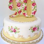 Vintage Birthday Cakes Vintage 90th Birthday Cake