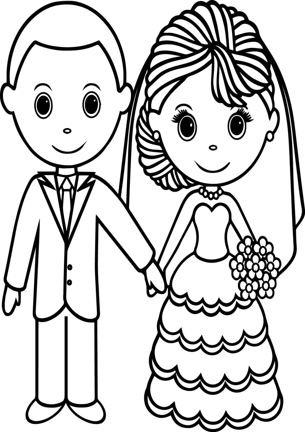 21+ Exclusive Photo of Wedding Coloring Pages