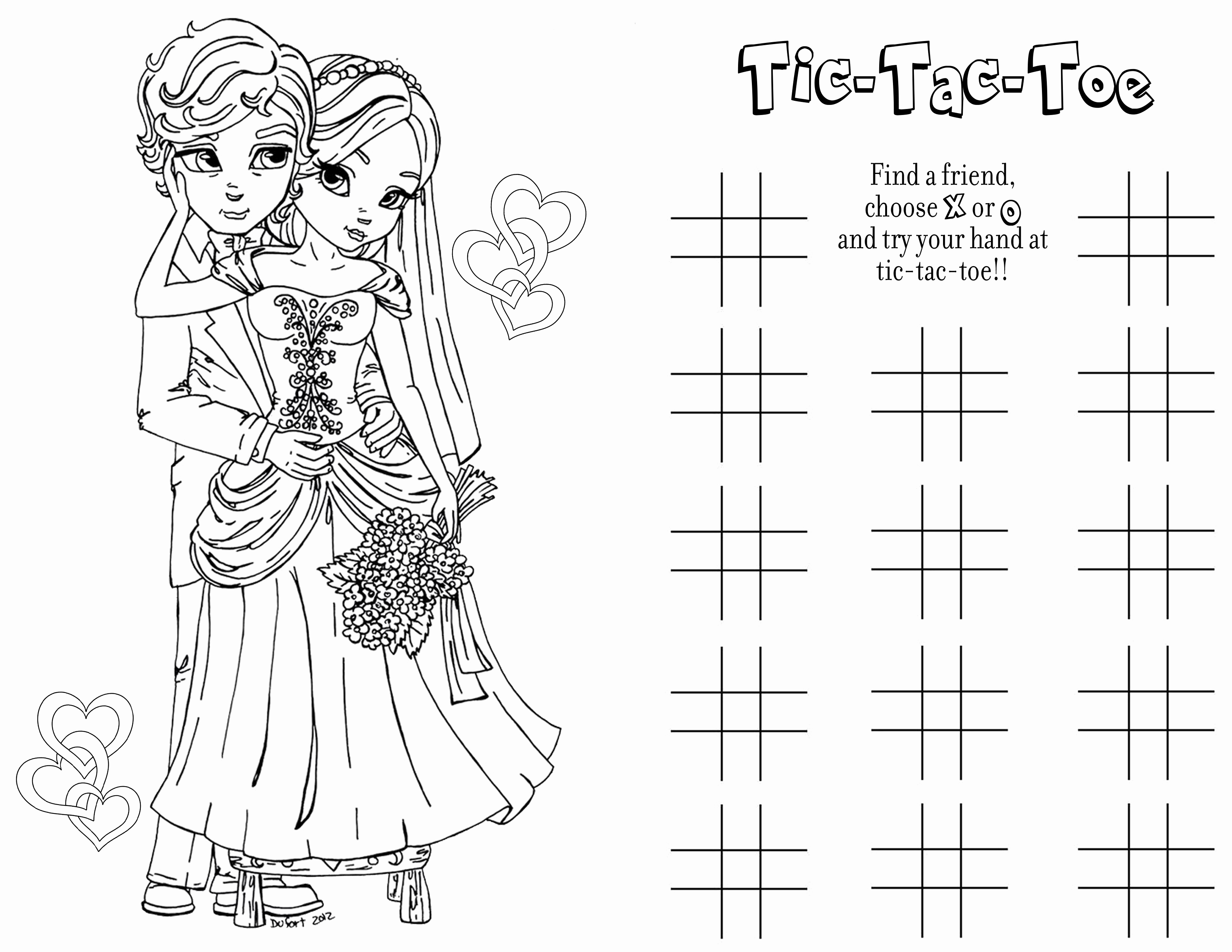 Wedding Coloring Pages Kids Wedding Coloring Book 4976 Octaviopaz