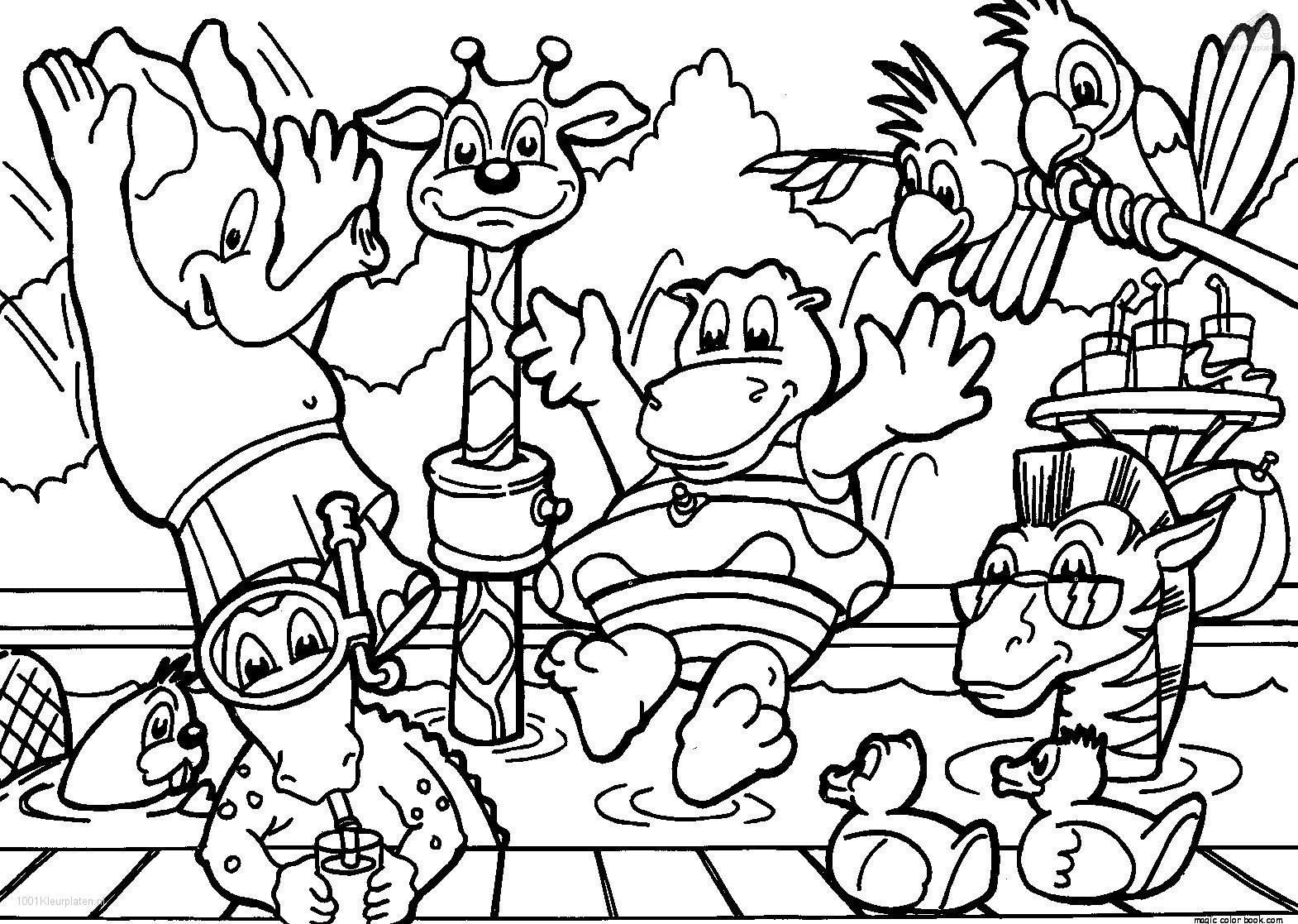 Zoo Animals Coloring Pages Amazing Zoo Animal Coloring Pages Animals Page Colouring Free For