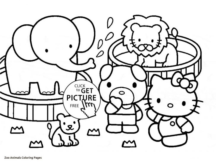 Zoo Animals Coloring Pages Coloring Page Remarkable Zoo Animal Coloring Sheets