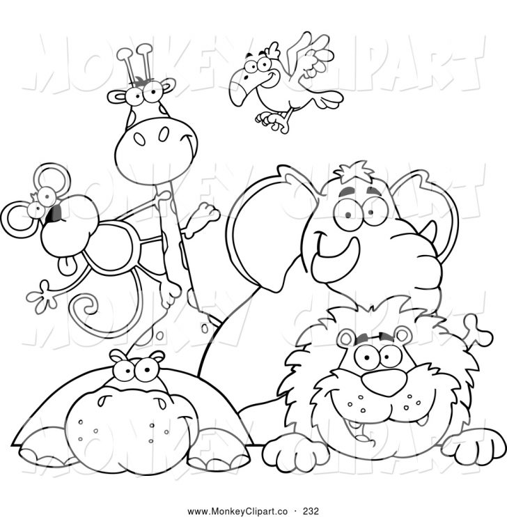 Zoo Animals Coloring Pages Free Zoo Coloring Pages At Getdrawings Free For Personal Use