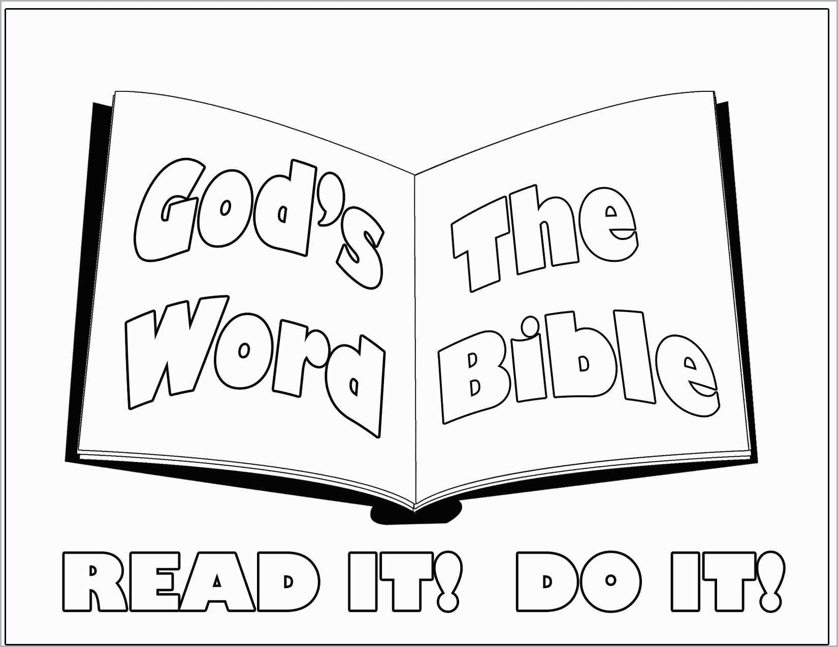 Bible Story Coloring Pages Free