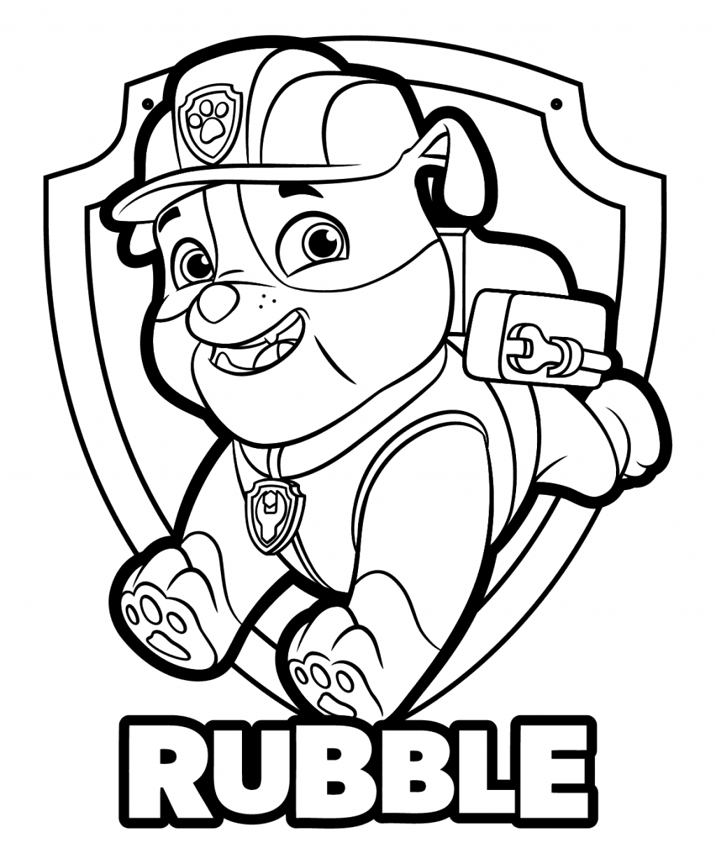 25+ Excellent Picture of Chase Paw Patrol Coloring Page ...