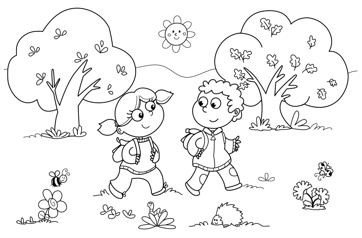 Coloring Pages For Kindergarten Free Printable