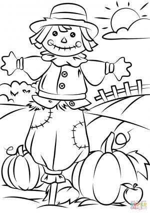 Universal image intended for free fall printable coloring pages