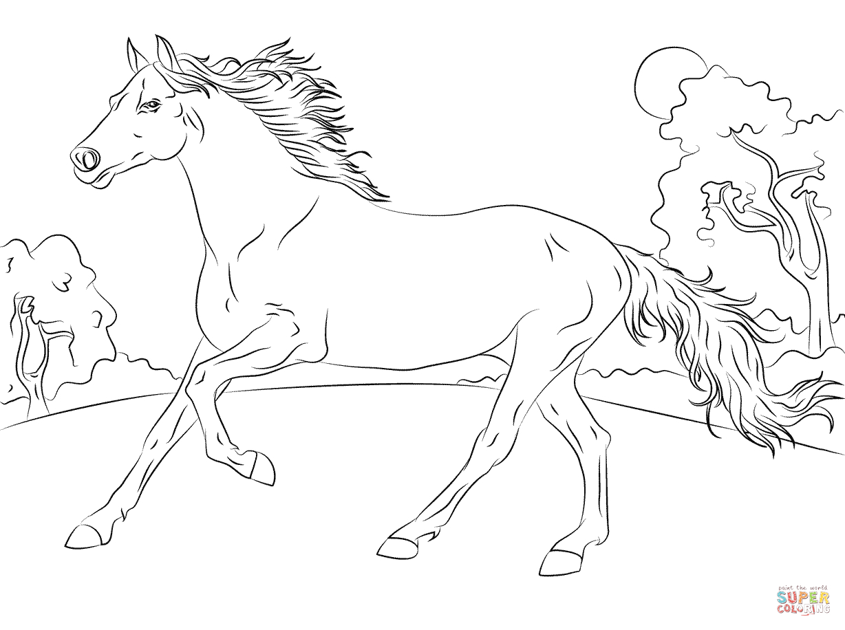 21+ Inspiration Picture of Horse Coloring Page