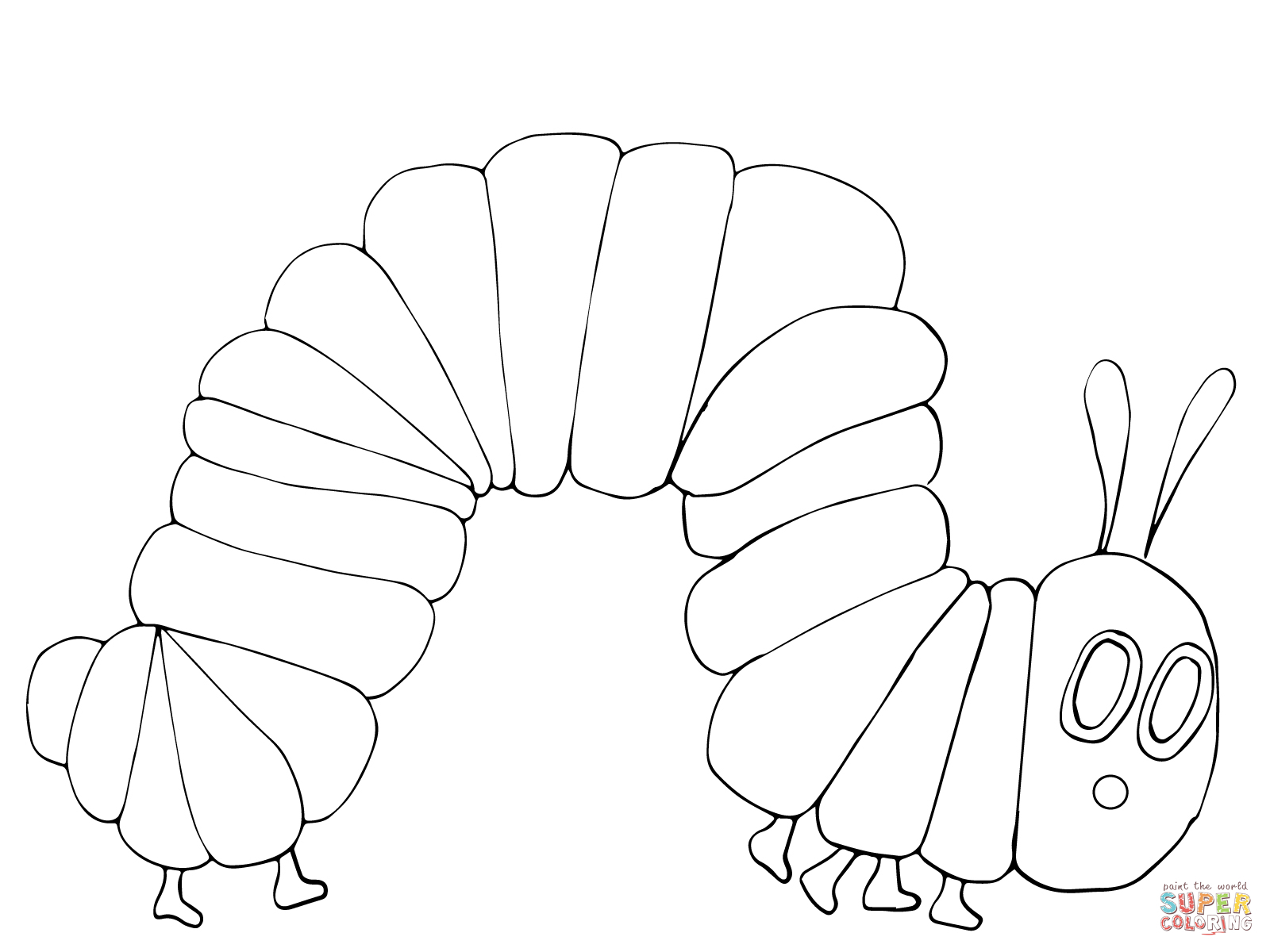 Hungry Caterpillar Coloring Pages Coloring Pages Splendi The Very Hungry Caterpillar Coloring Book