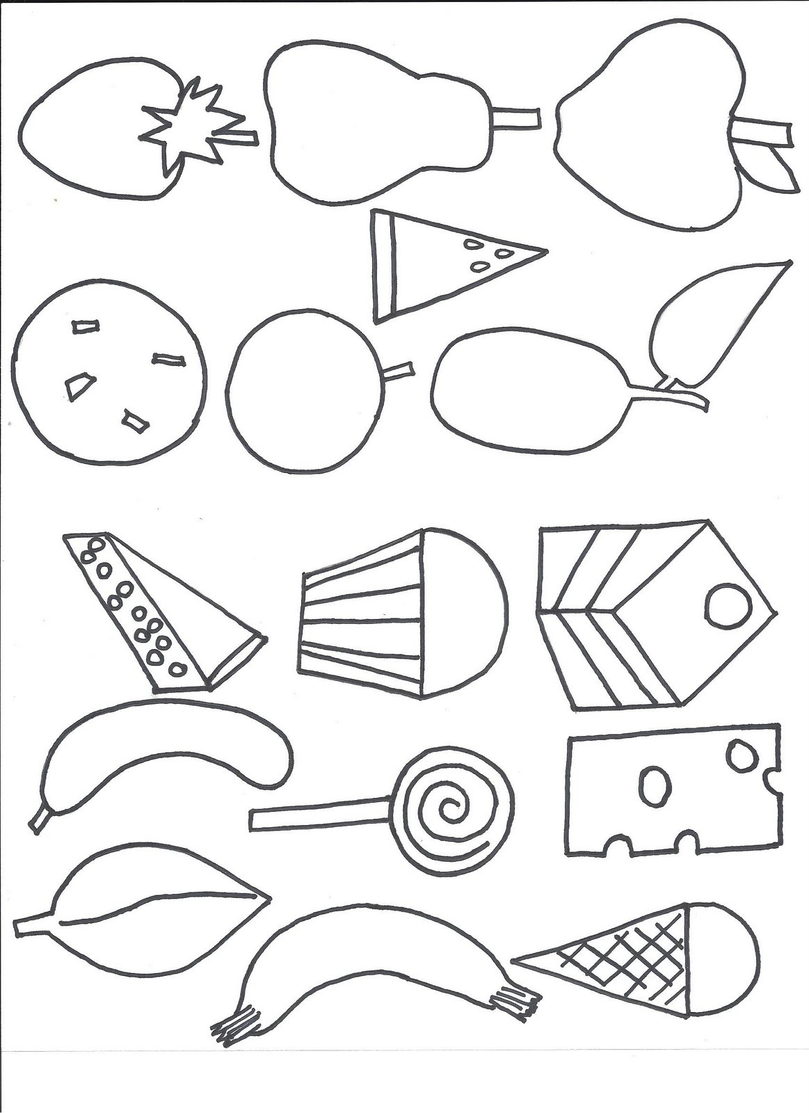 Hungry Caterpillar Coloring Pages Hungry Caterpillar Coloring Pages Capricus Me In The Very Butterfly