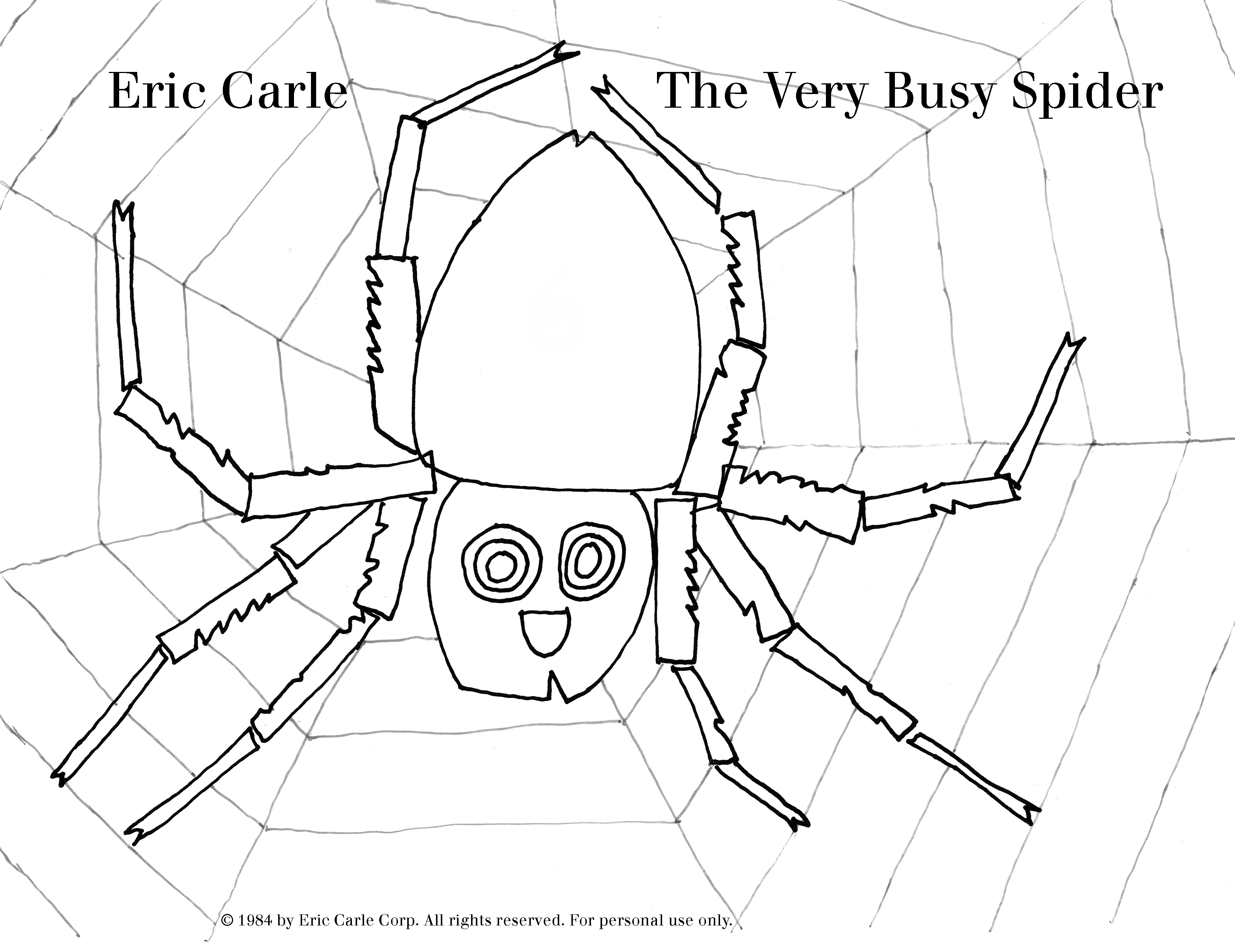 Hungry Caterpillar Coloring Pages The Official Eric Carle Web Site Coloring Page