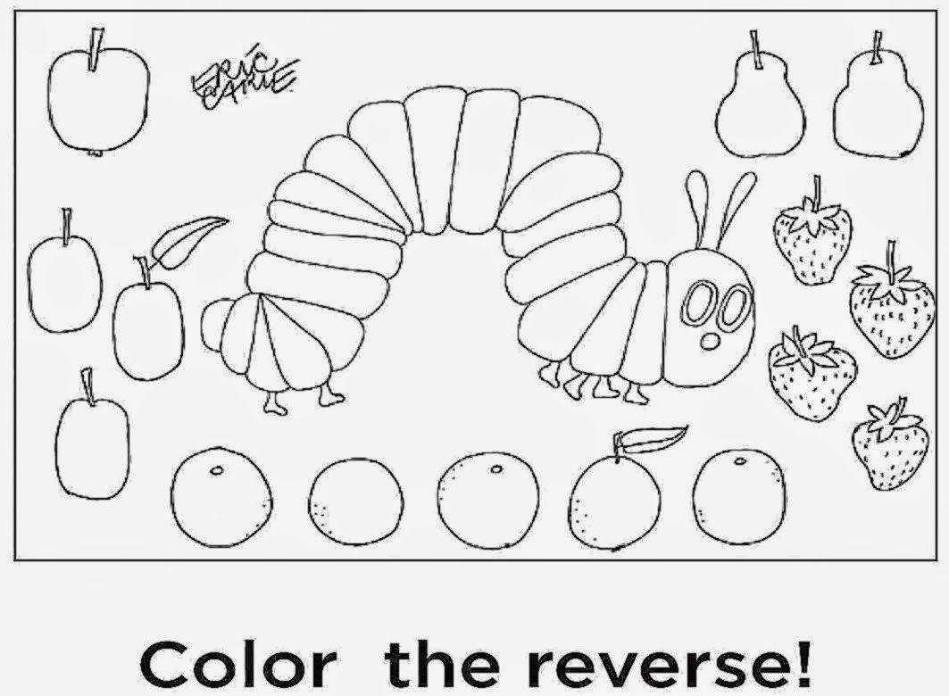 Hungry Caterpillar Coloring Pages Very Hungry Caterpillar Coloring Pa Best Coloring Pages Collection