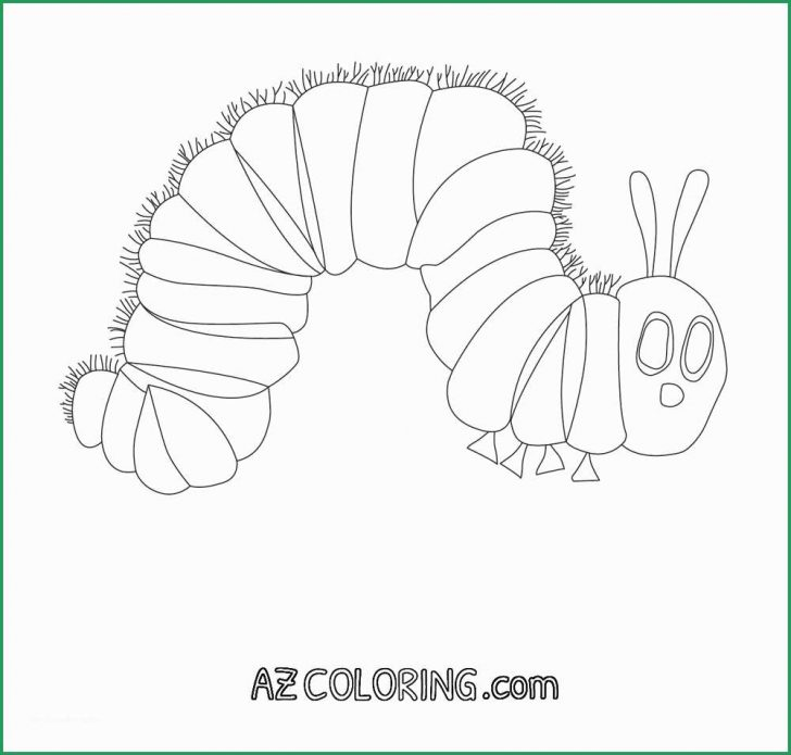 Hungry Caterpillar Coloring Pages Very Hungry Caterpillar Coloring Page Beautiful Very Hungry
