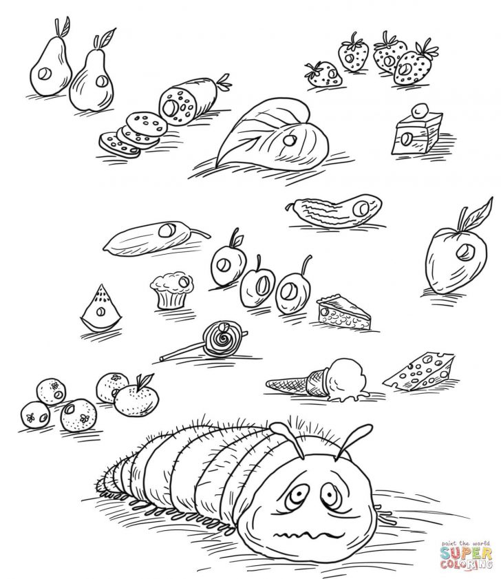 Hungry Caterpillar Coloring Pages Viola Swamp Coloring Page Beautiful Very Hungry Caterpillar With