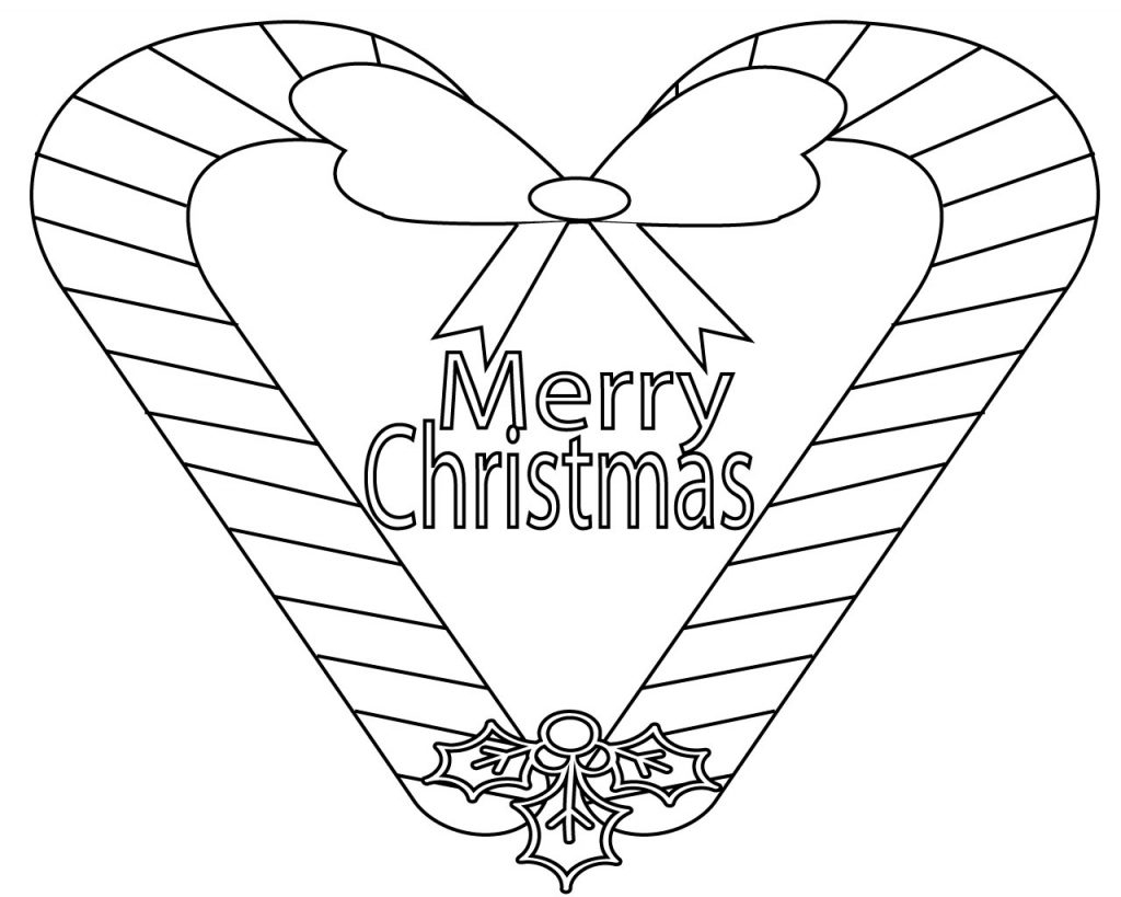21+ Creative Photo of Merry Christmas Coloring Pages ...